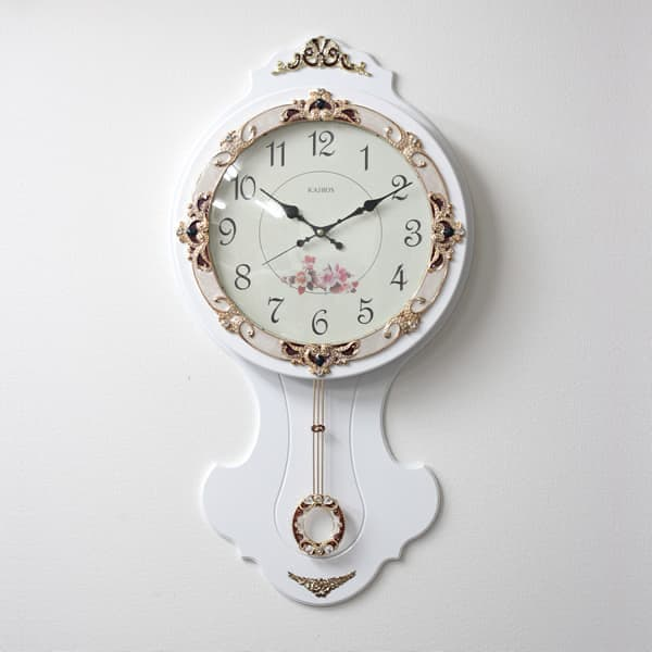 セール品 KAIROS カイロス クオーツ掛け時計【KS611W】【外箱傷有/ラッピング不可】