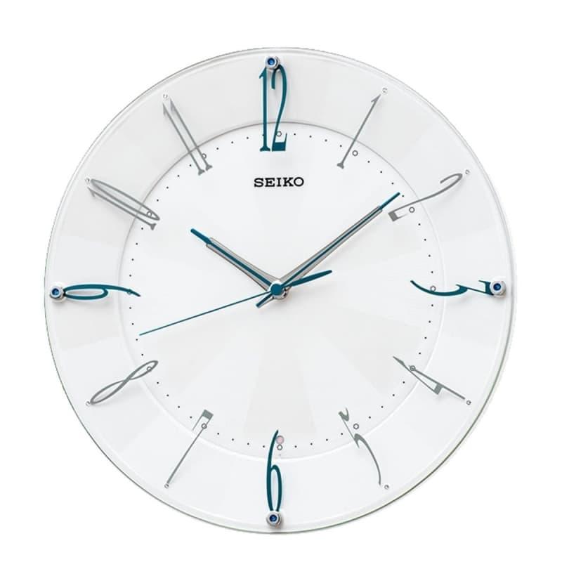 SEIKO(セイコー)スタンダード 電波掛け時計 KX214W シルバー