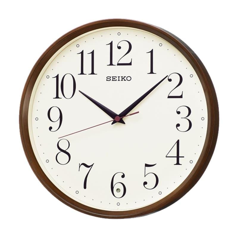 SEIKO(セイコー)スタンダード 電波掛け時計 KX222B 濃茶