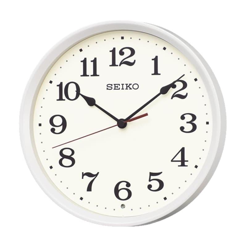 SEIKO(セイコー)スタンダード 電波掛け時計 KX223W 白パール