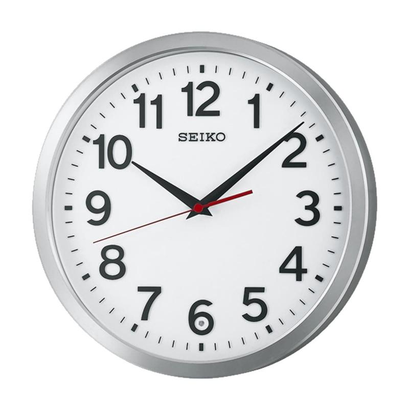 SEIKO(セイコー)オフィスタイプ 電波掛け時計 KX227S ホワイト