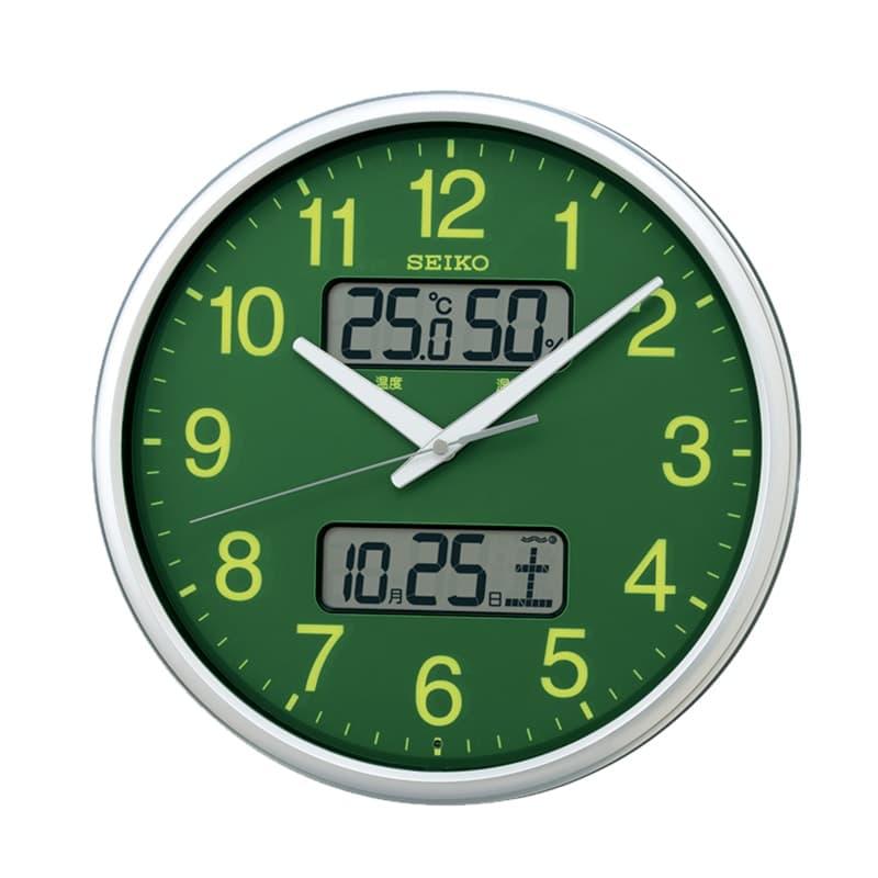 SEIKO セイコー オフィスタイプ 電波掛け時計 KX235H 集光樹脂 35cm