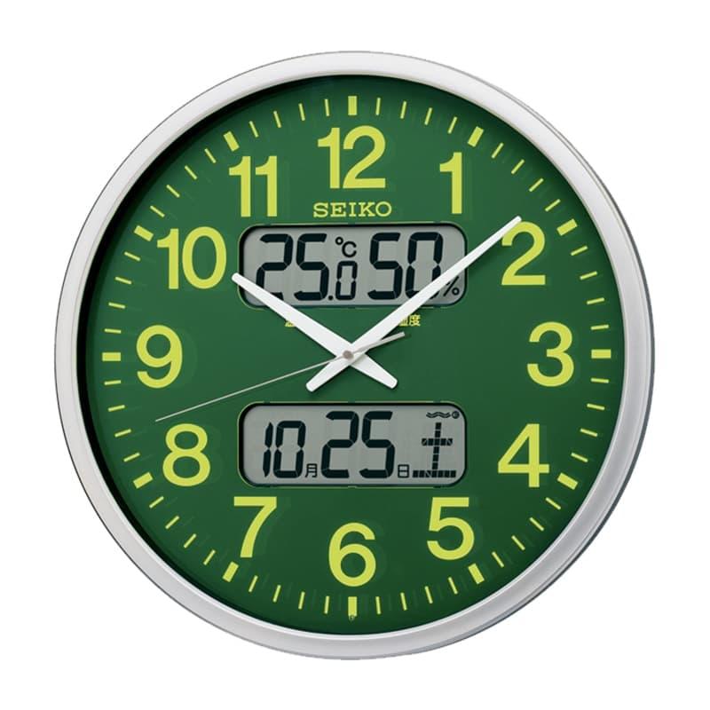 SEIKO セイコー オフィスタイプ 電波掛け時計 KX237H 集光樹脂