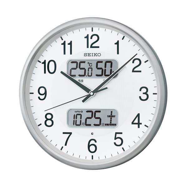 SEIKO セイコー スタンダード 電波 掛け時計 KX383S 35cm