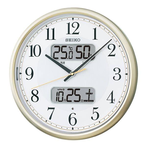 SEIKO セイコー 夜光 電波 掛け時計 KX384S 35cm