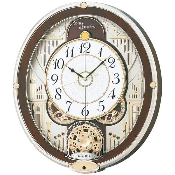 SEIKO セイコー 電波 からくり 掛け時計 RE577B