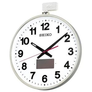 SEIKO セイコー 屋外用ソーラー電波壁掛け時計【SF211S】 53cm