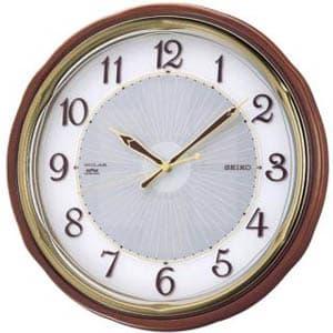 SEIKO セイコー 電波掛け時計 ソーラープラス【SF221B】 35cm