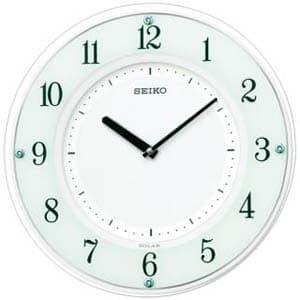 SEIKO セイコー 電波掛け時計 ソーラープラス【SF505W】