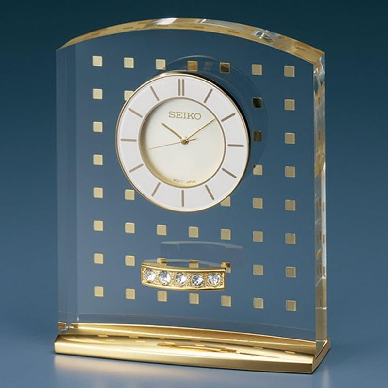 SEIKO セイコー スタンダード  クオーツ 置き時計 レスポワール UF801G