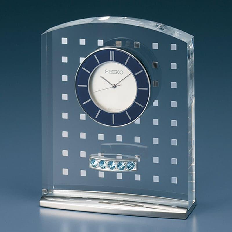 SEIKO セイコー スタンダード  クオーツ 置き時計 レスポワール UF801S