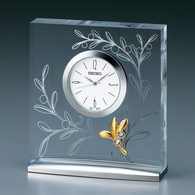 SEIKO セイコー スタンダード  クオーツ 置き時計 レスポワール UF803S